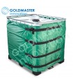 Cubierta aislante IBC 1000 litros repelente al agua