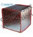 Funda termica (Al) IBC 1000 litros PLATA-RED DIAMETRO 300